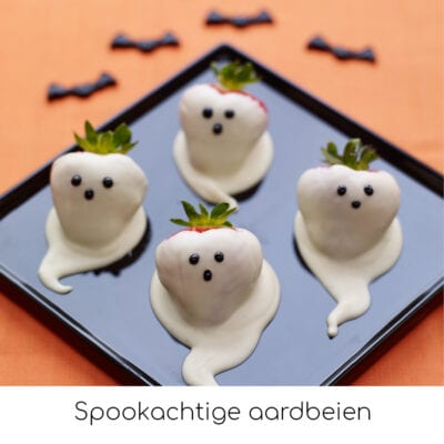 Spookachtige aardbeien