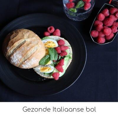 Gezonde Italiaanse bol