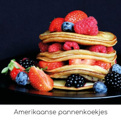 Amerikaanse pannenkoekjes
