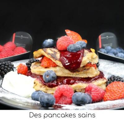 Des pancakes sains